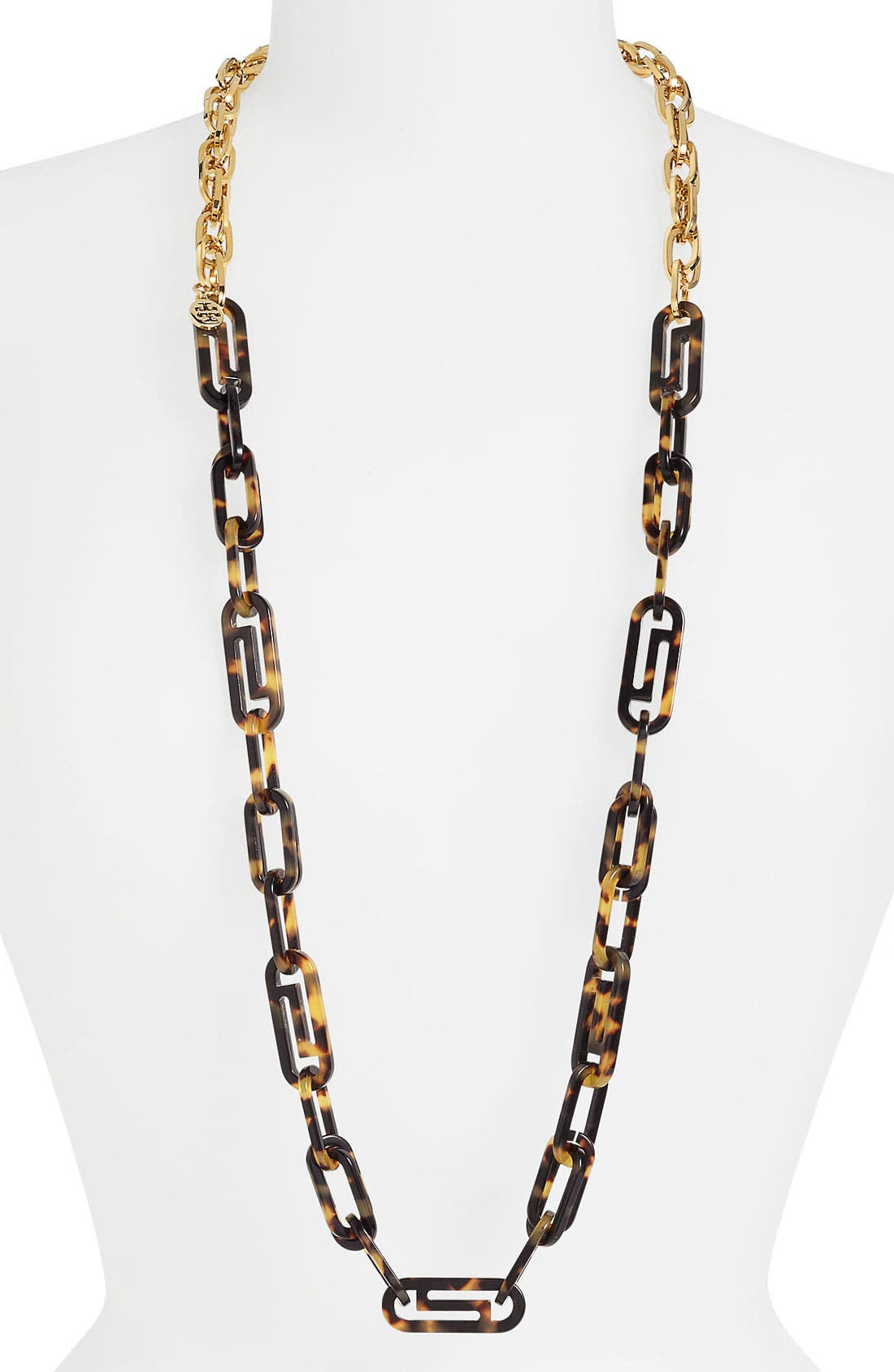 Alternate Image 2  - Tory Burch Long Link Necklace