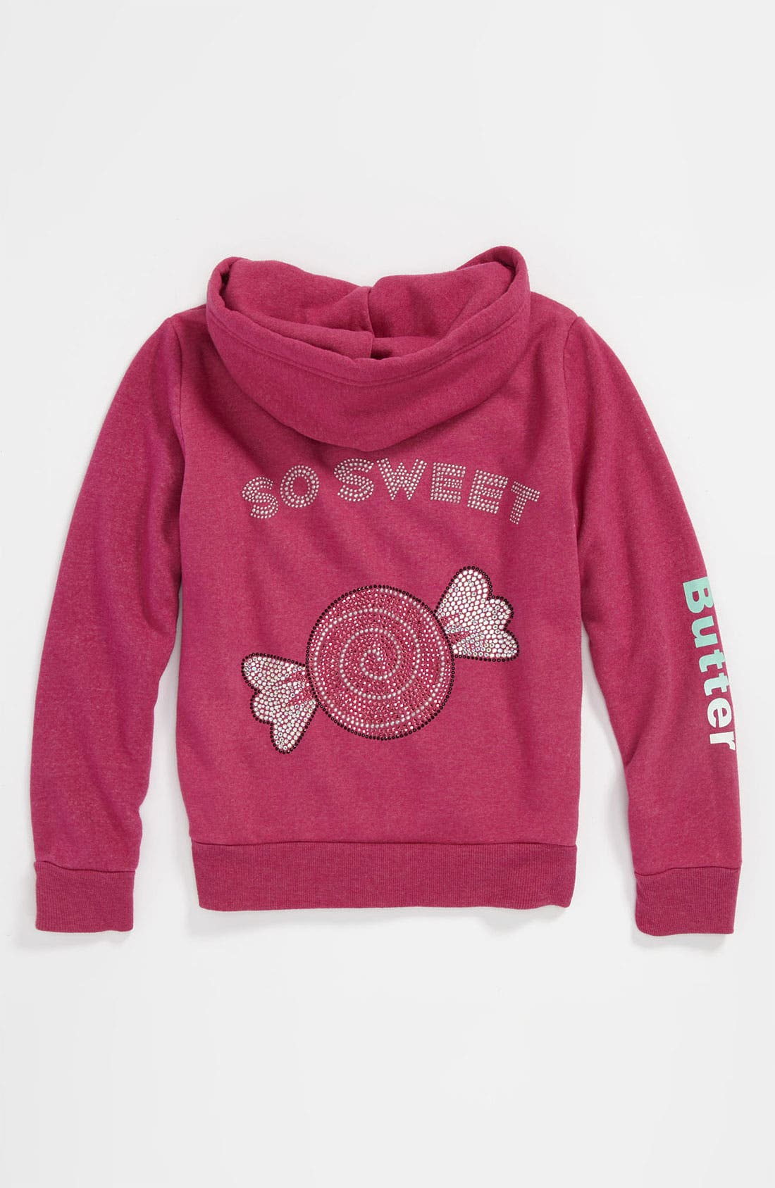 Alternate Image 2  - Butter Supersoft 'Hard Candy' Hoodie (Big Girls)