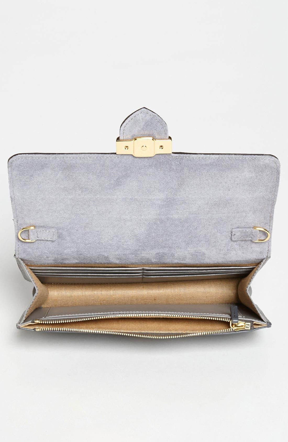 Alternate Image 3  - Fendi 'Mini' Genuine Python Crossbody Bag