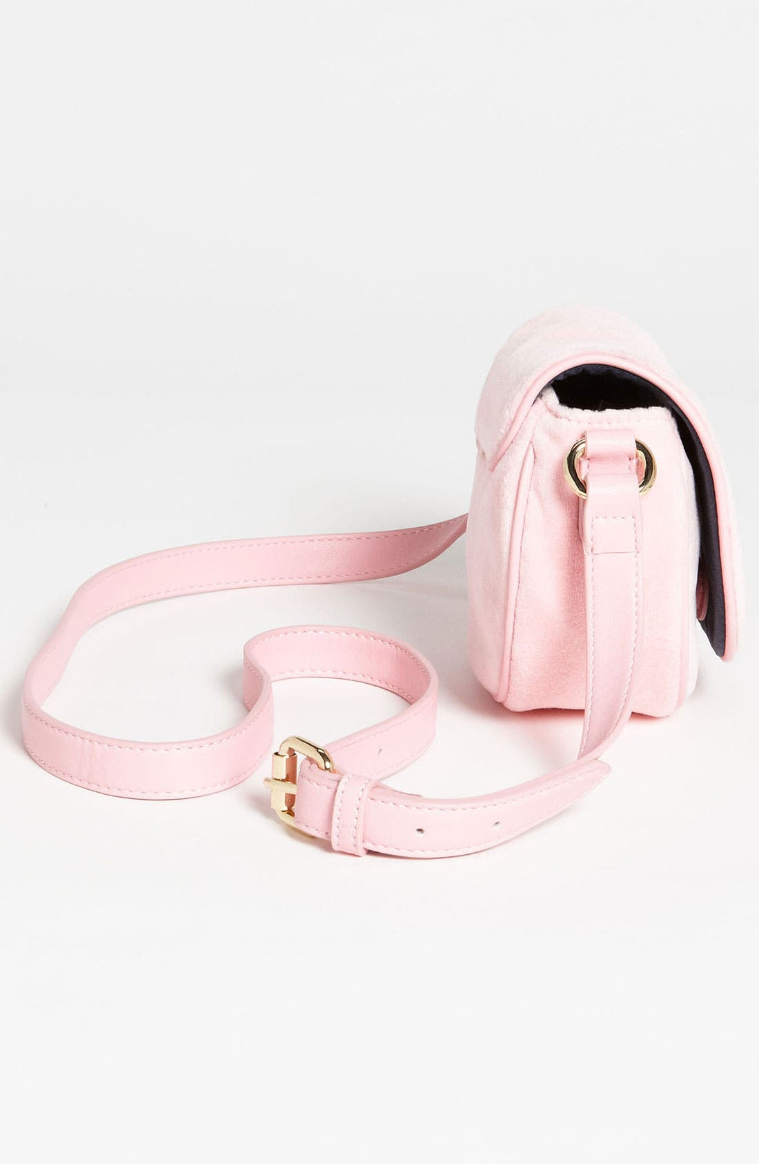 Alternate Image 2  - Juicy Couture Velour Crossbody Bag (Girls)