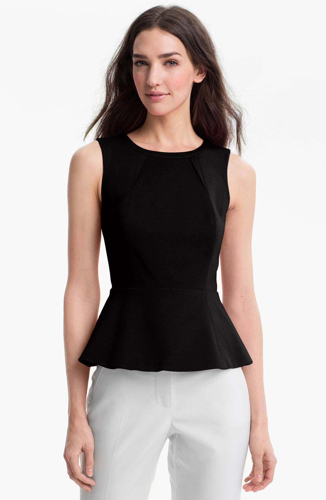 Alternate Image 1 Selected - Trina Turk Peplum Top