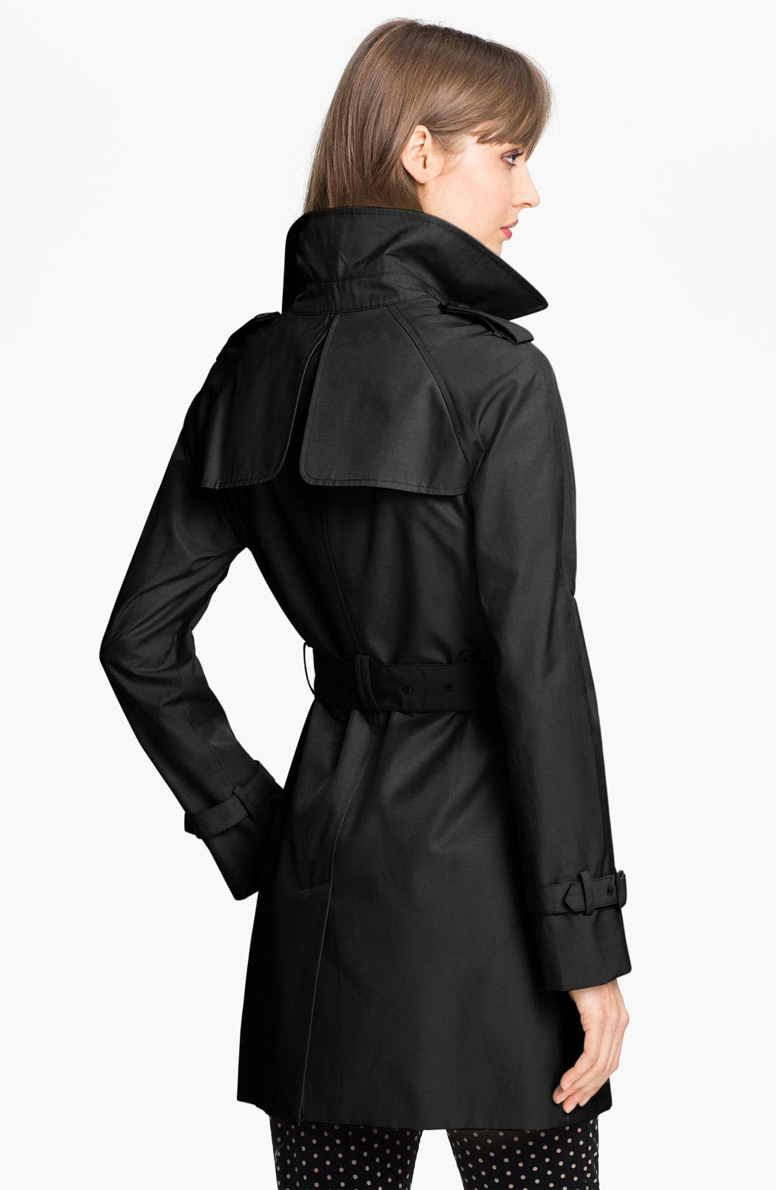 Alternate Image 2  - Calvin Klein 'Legacy' Poplin Trench Coat (Online Only)