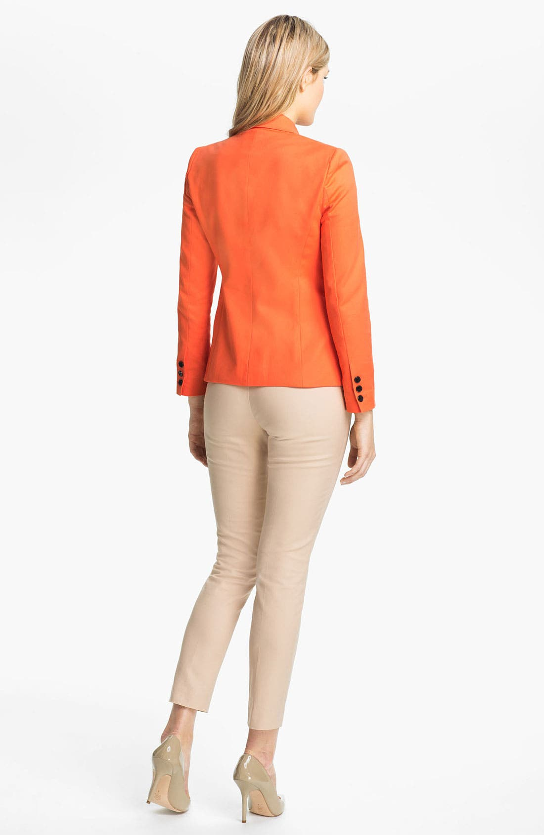 Alternate Image 5  - Vince Camuto Pleat Bib Shirt