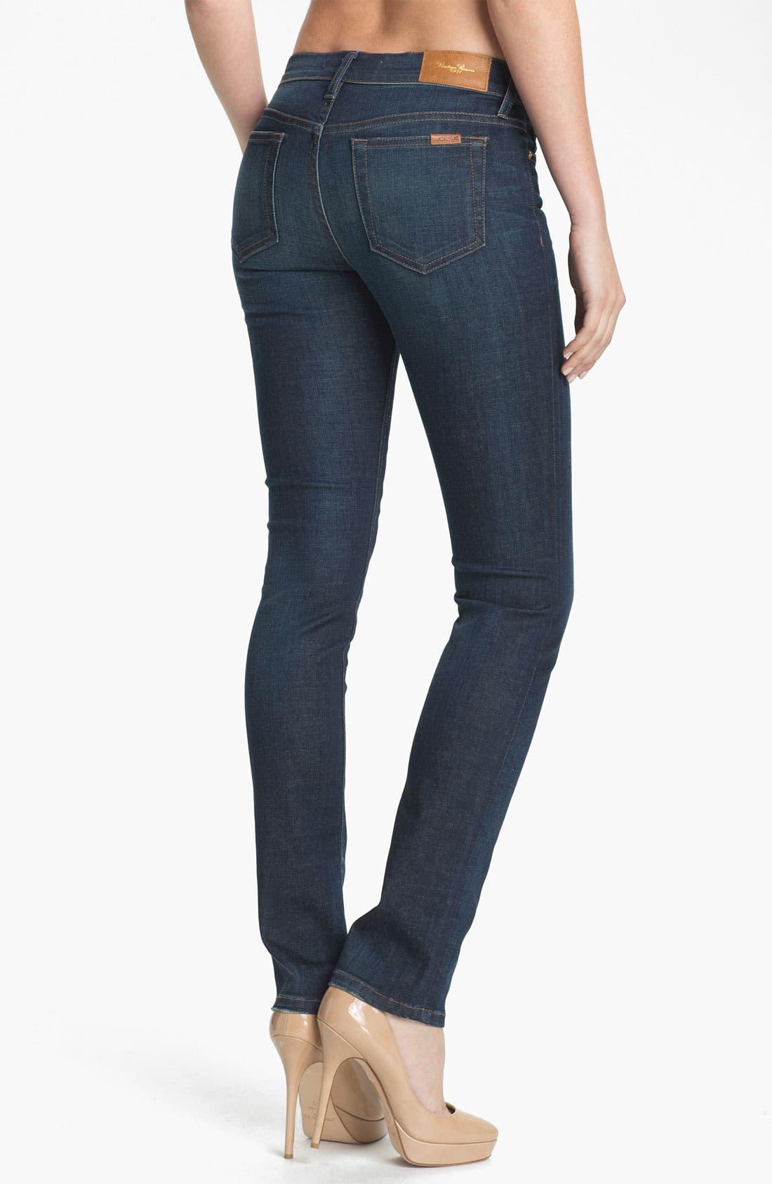 Alternate Image 2  - Joe's 'Vintage Reserve' Straight Leg Jeans (Roxalana)