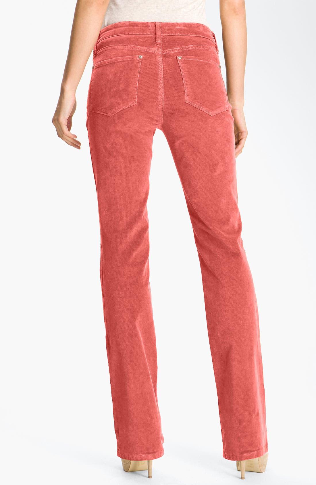 Alternate Image 2  - NYDJ Bootcut Corduroy Jeans (Petite)