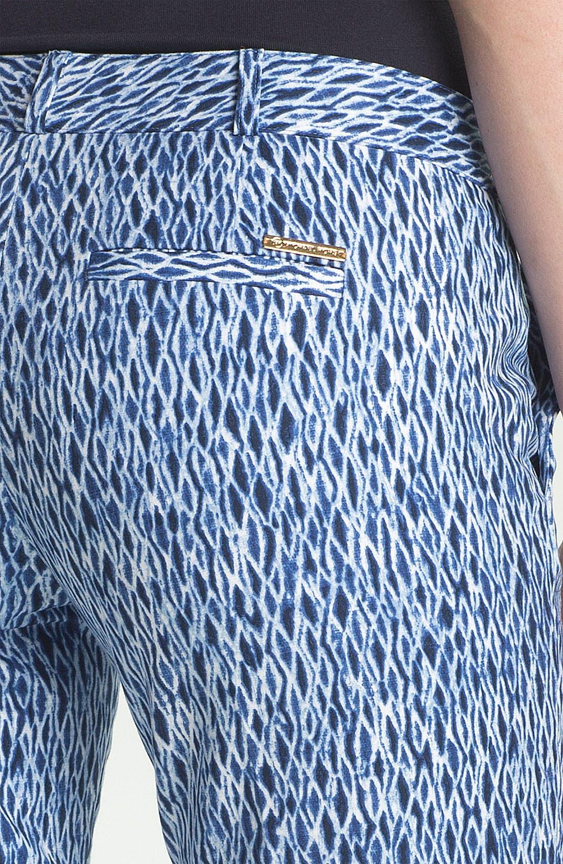 Alternate Image 3  - MICHAEL Michael Kors 'Wave Shibori' Ankle Pants