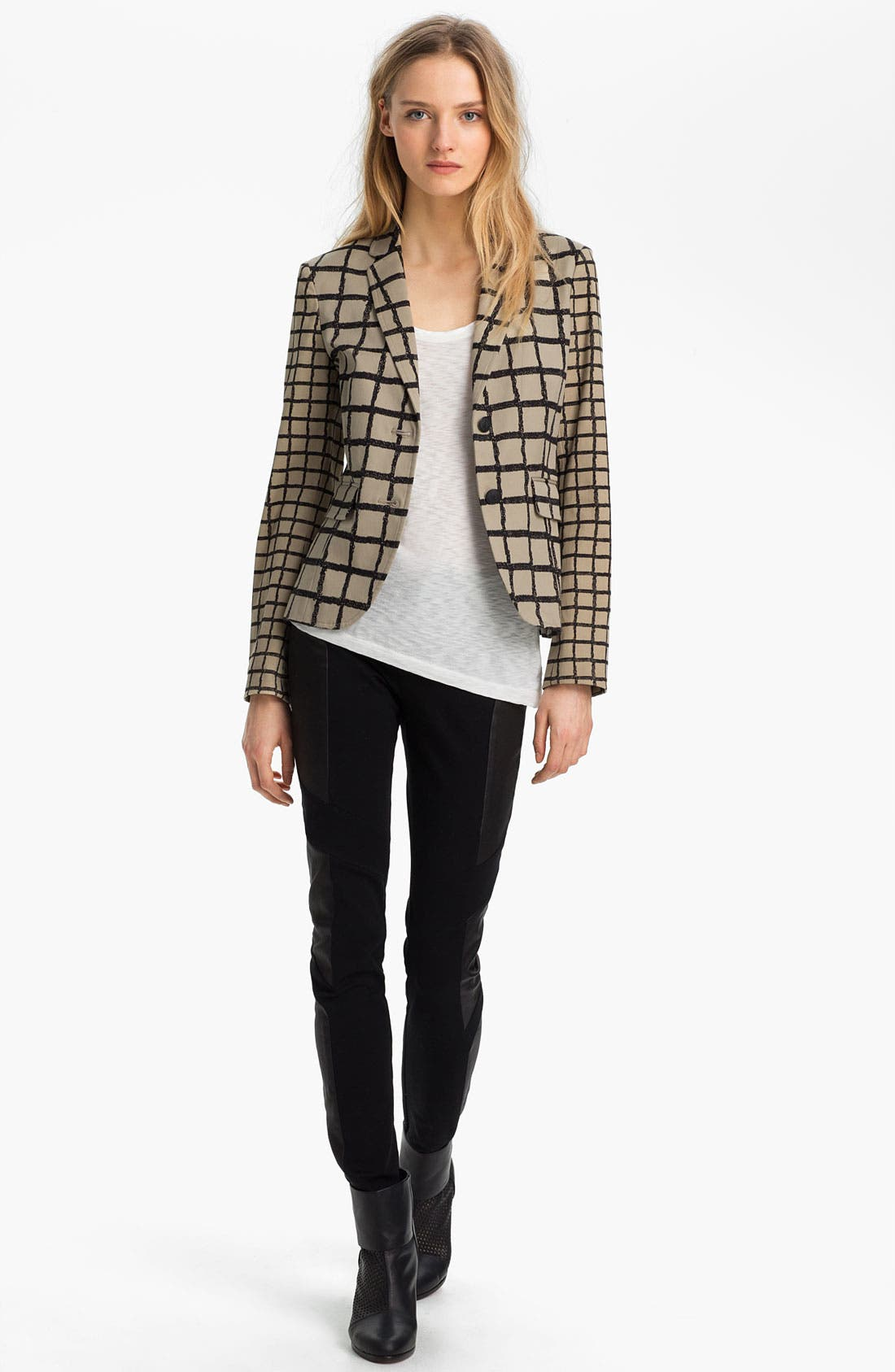 Alternate Image 1 Selected - rag & bone 'Bailey' Windowpane Jacket