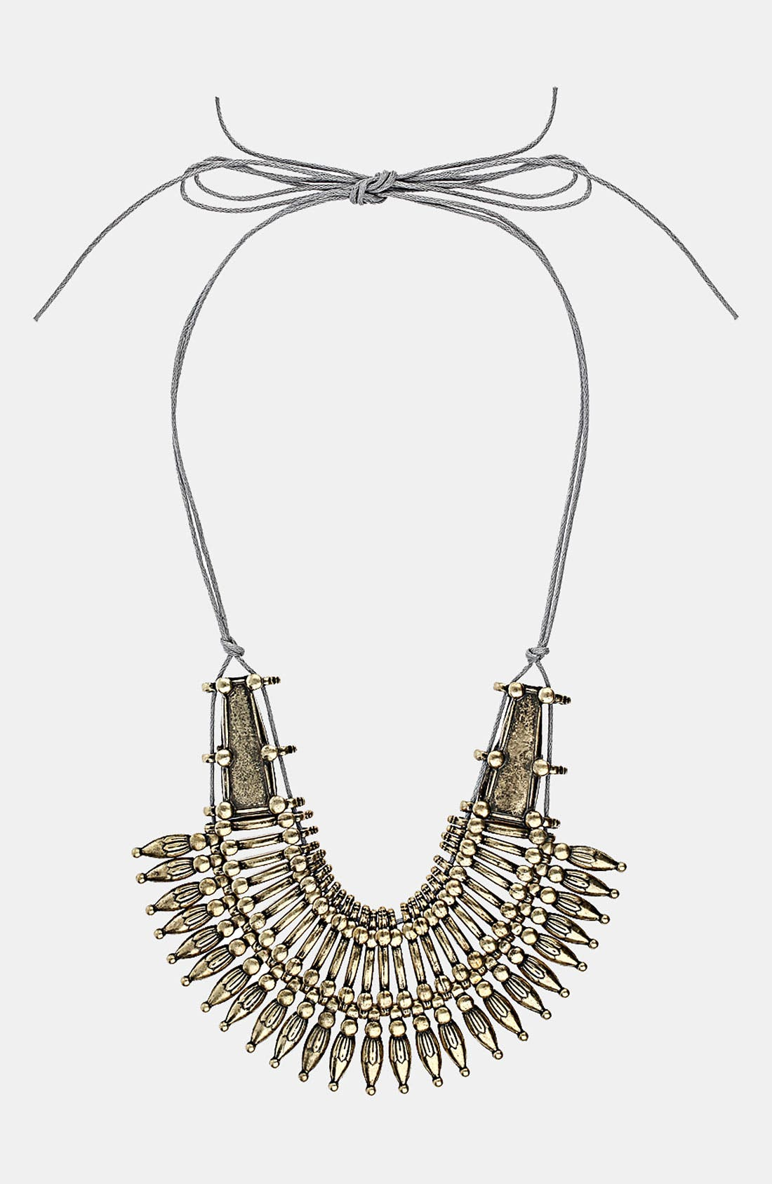 Alternate Image 1 Selected - Topshop 'Warrior' Collar Necklace