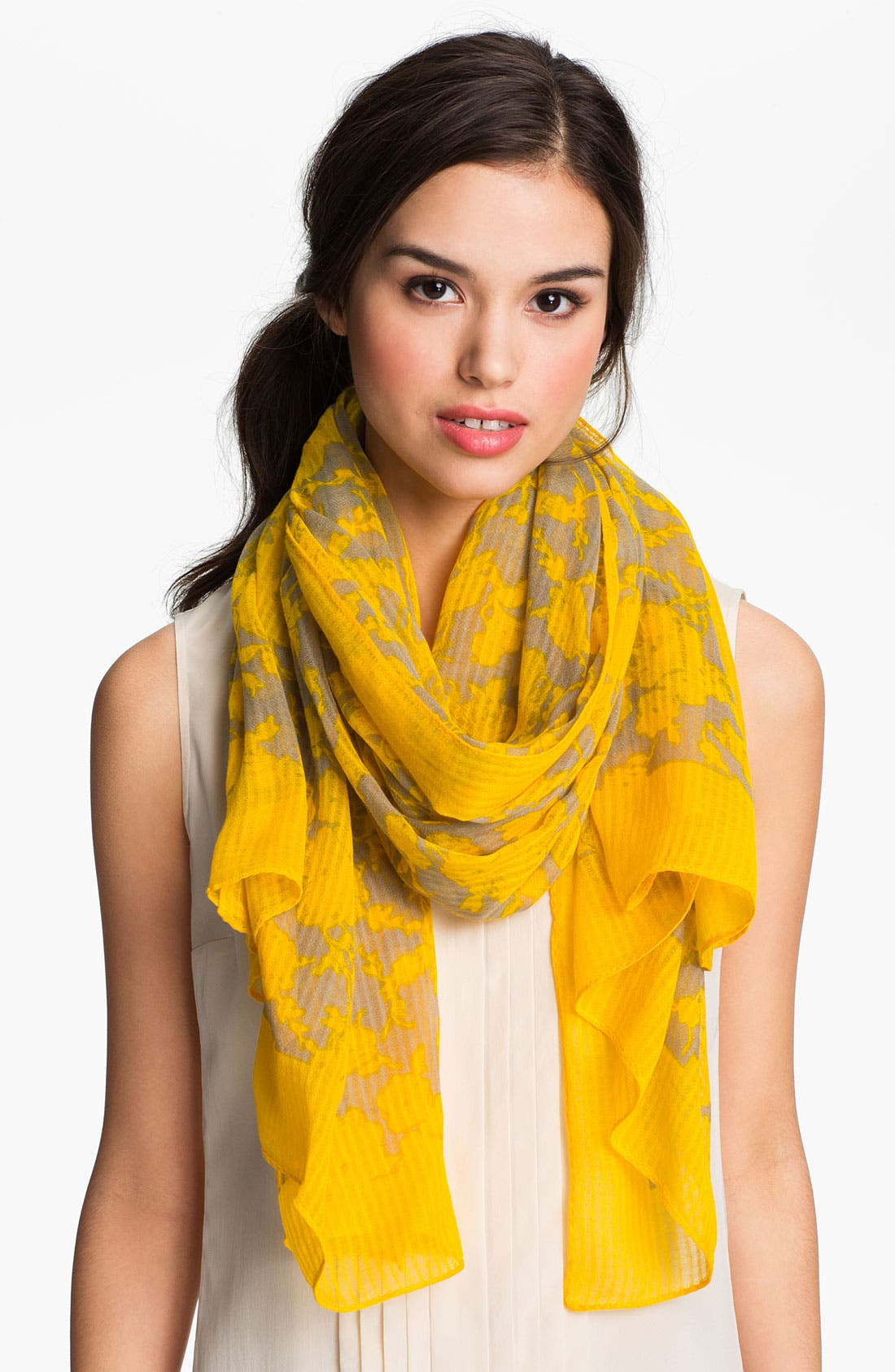 Alternate Image 1 Selected - Tory Burch 'Abbot' Scarf