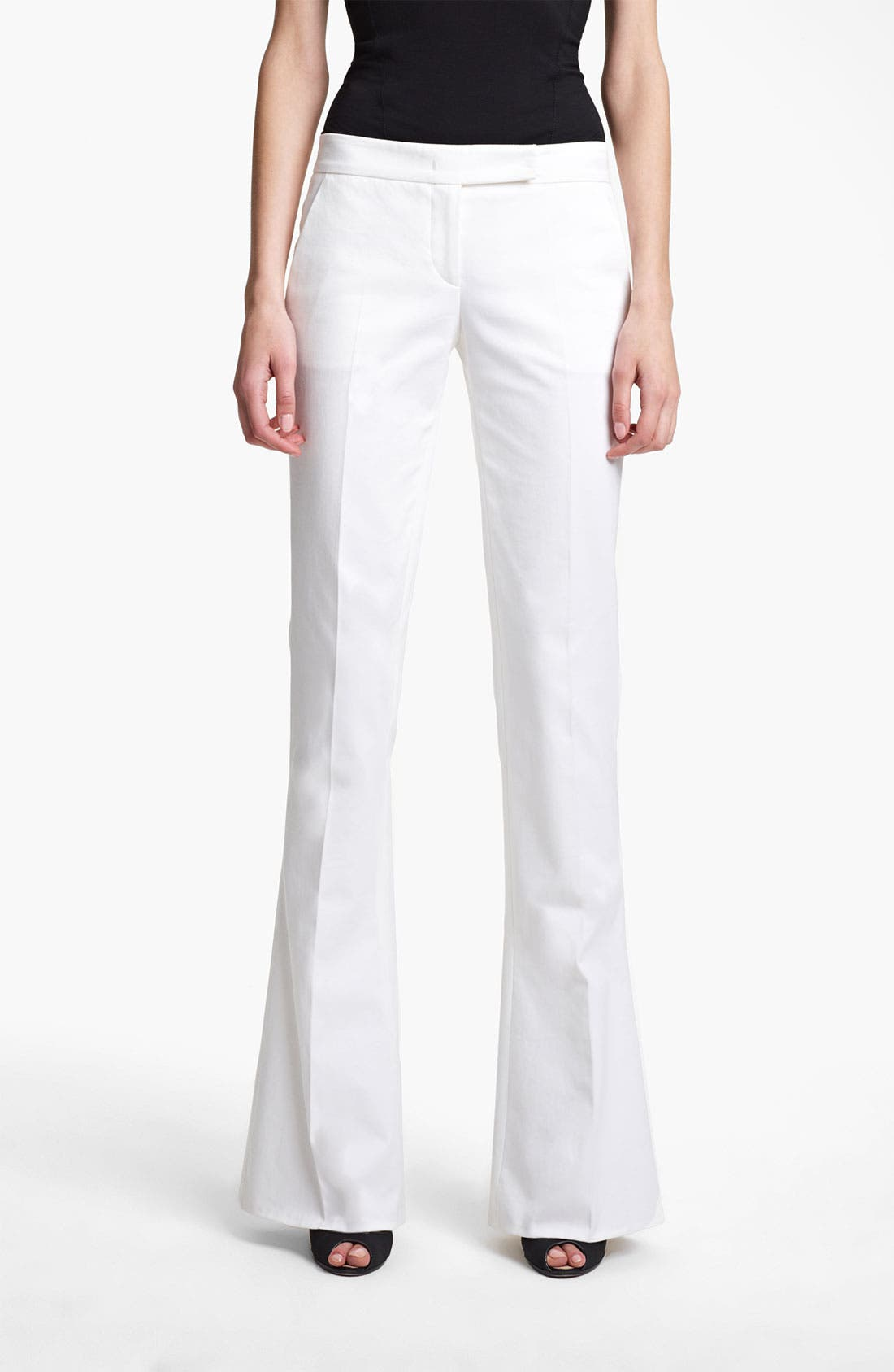 Alternate Image 1 Selected - Emilio Pucci Bootcut Stretch Cotton Pants
