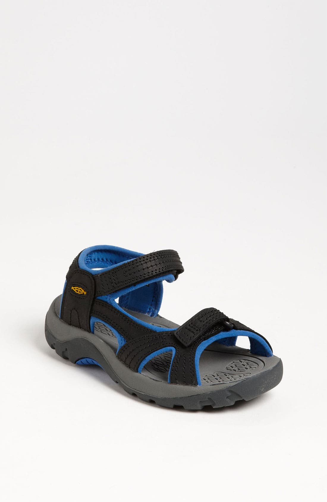 Alternate Image 1 Selected - Keen 'Jura' Leather Sandal (Toddler, Little Kid & Big Kid)