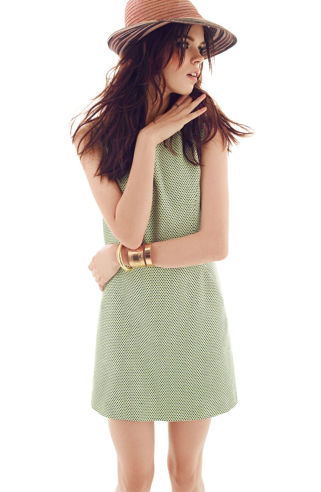 Alternate Image 6  - Miss Wu Modern Weave Shift Dress (Nordstrom Exclusive)