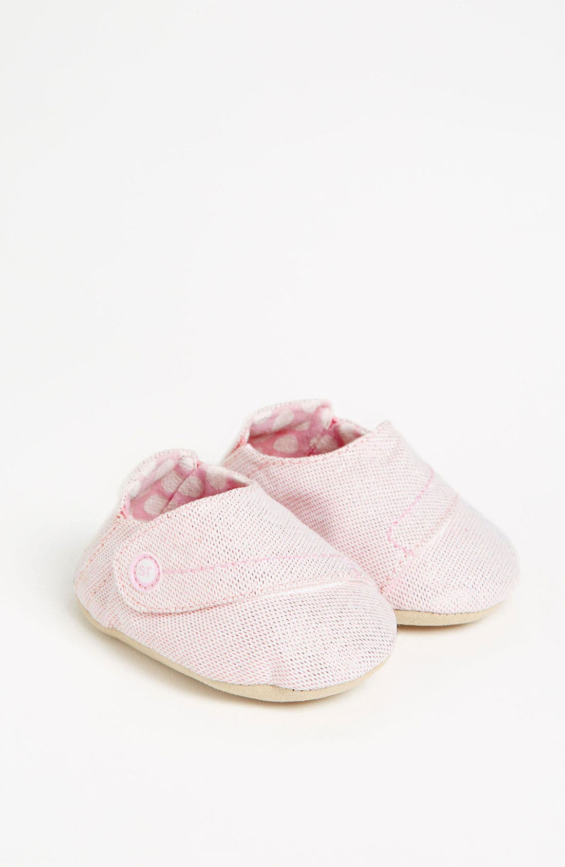 Alternate Image 1 Selected - Stride Rite 'Pink Dream' Crib Shoe (Baby)