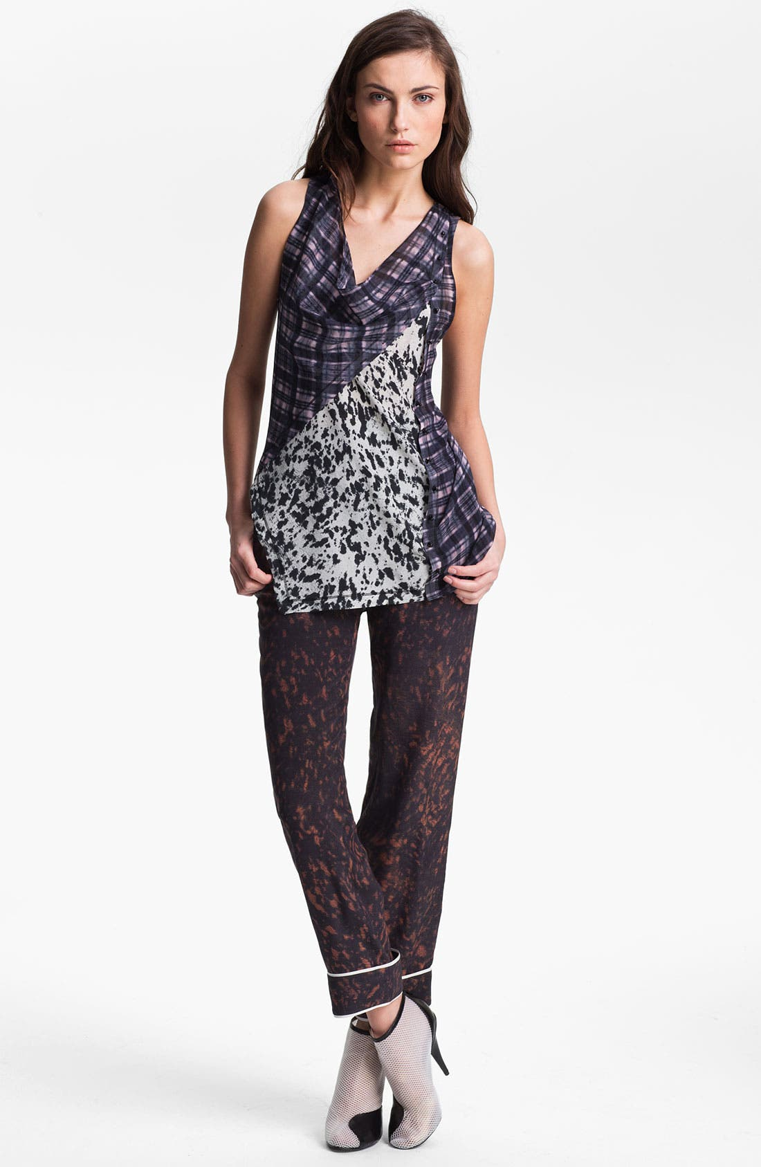 Alternate Image 1 Selected - 3.1 Phillip Lim Twisted Placket Top