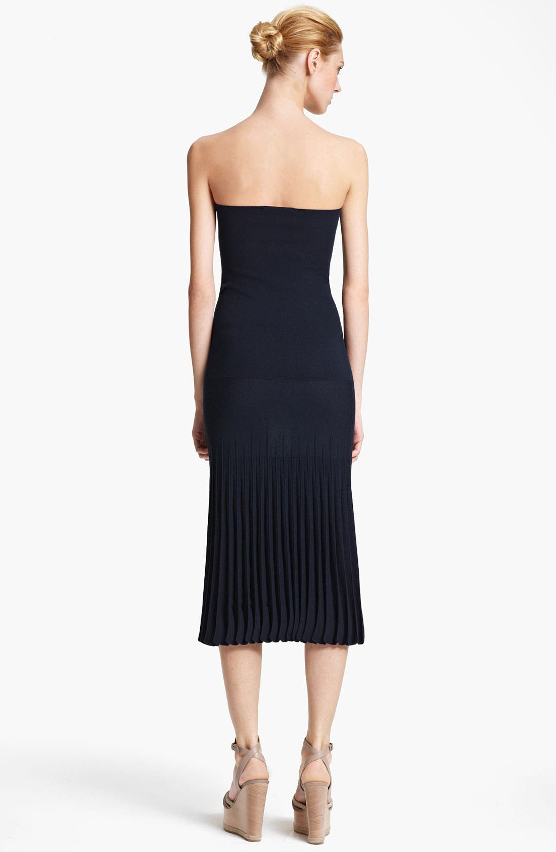 Alternate Image 2  - Donna Karan Collection 'Infinity' Strapless Stretch Knit Dress