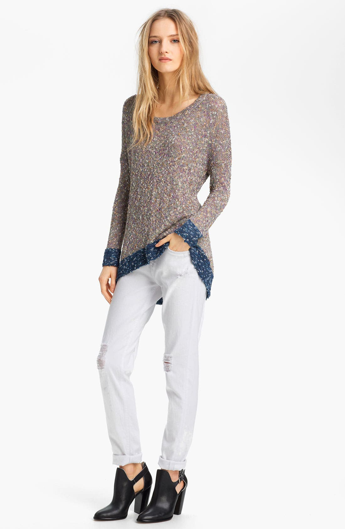 Alternate Image 5  - rag & bone/JEAN 'The Dash' Slouchy Skinny Jeans