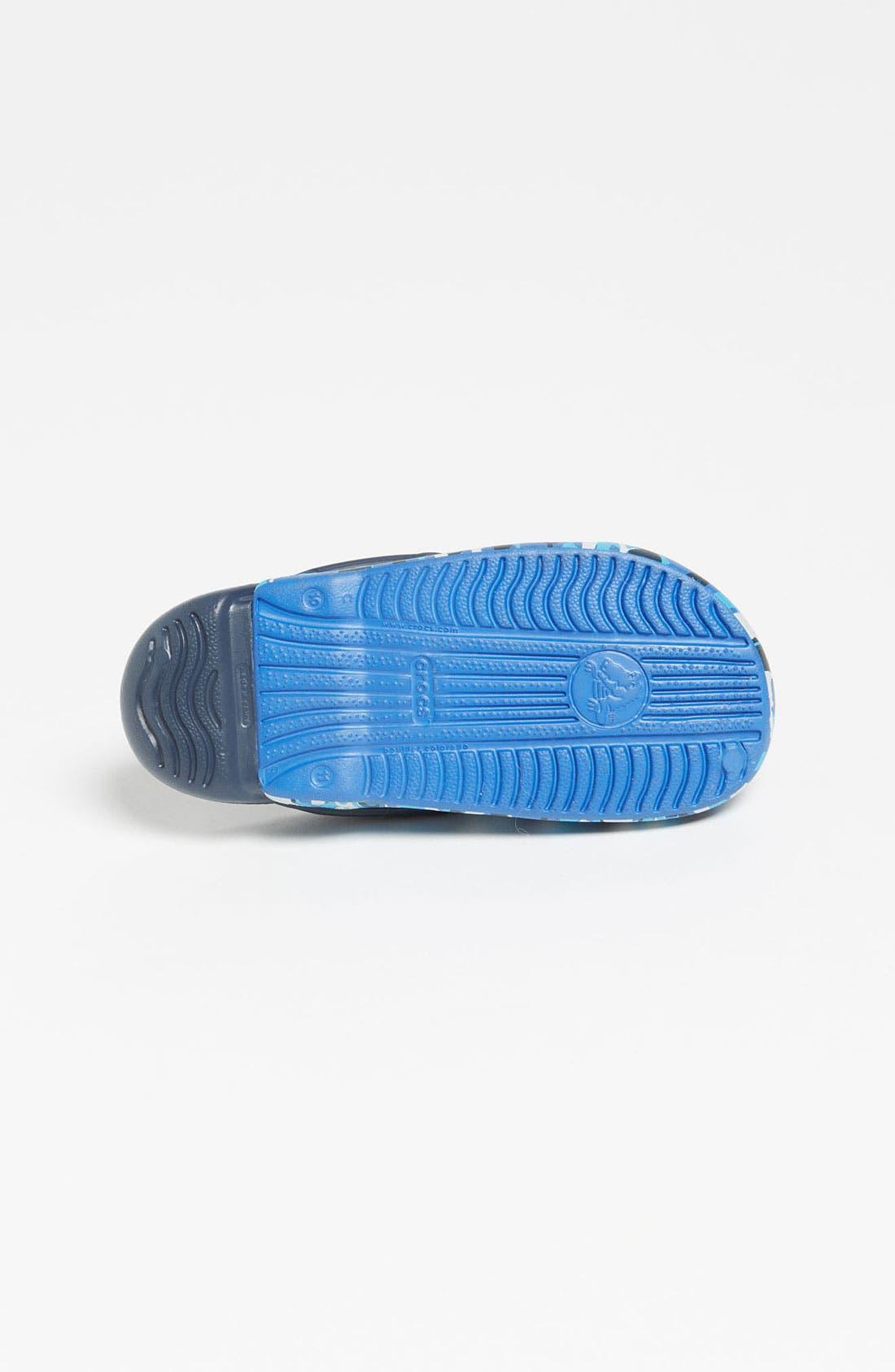Alternate Image 4  - CROCS™ 'Electro' Sandal (Walker, Toddler & Little Kid)