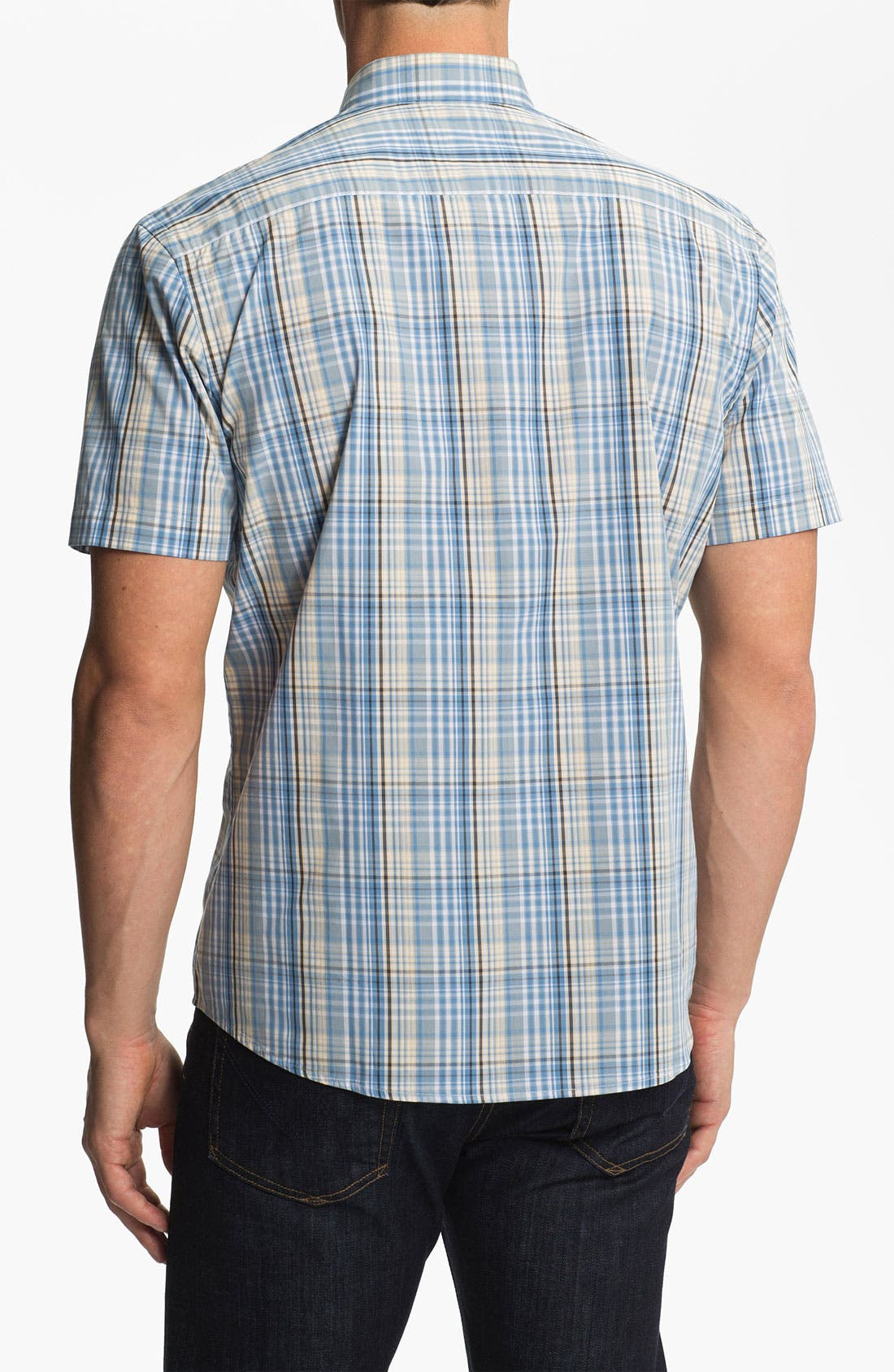 Alternate Image 2  - Cutter & Buck 'Leary' Plaid Sport Shirt