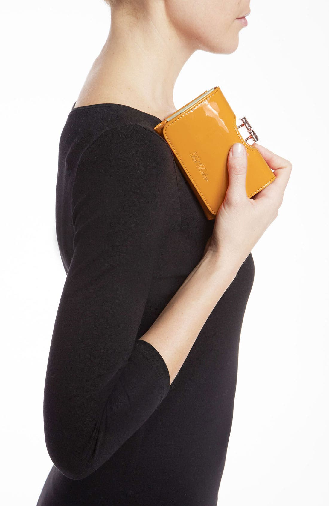 Alternate Image 2  - Ted Baker London 'Small' Patent Leather Wallet