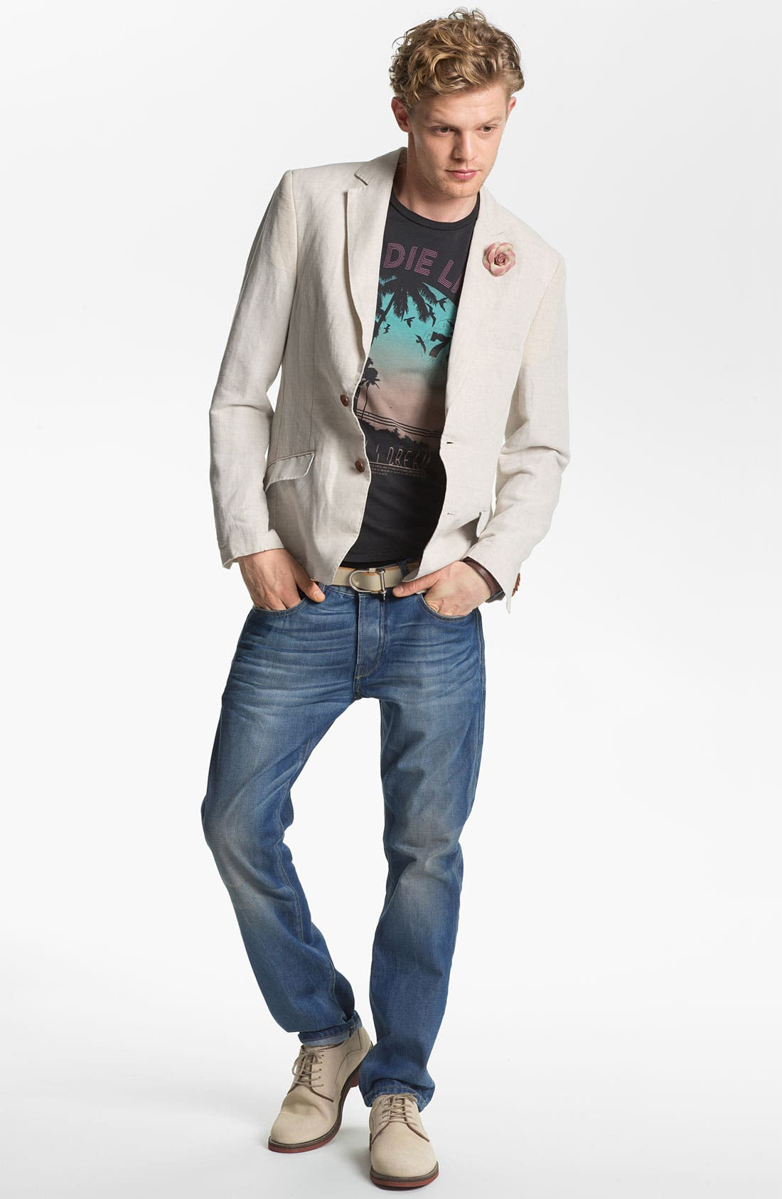 Alternate Image 5  - Scotch & Soda 'Ralston' Slim Straight Leg Jeans (Trump Town)