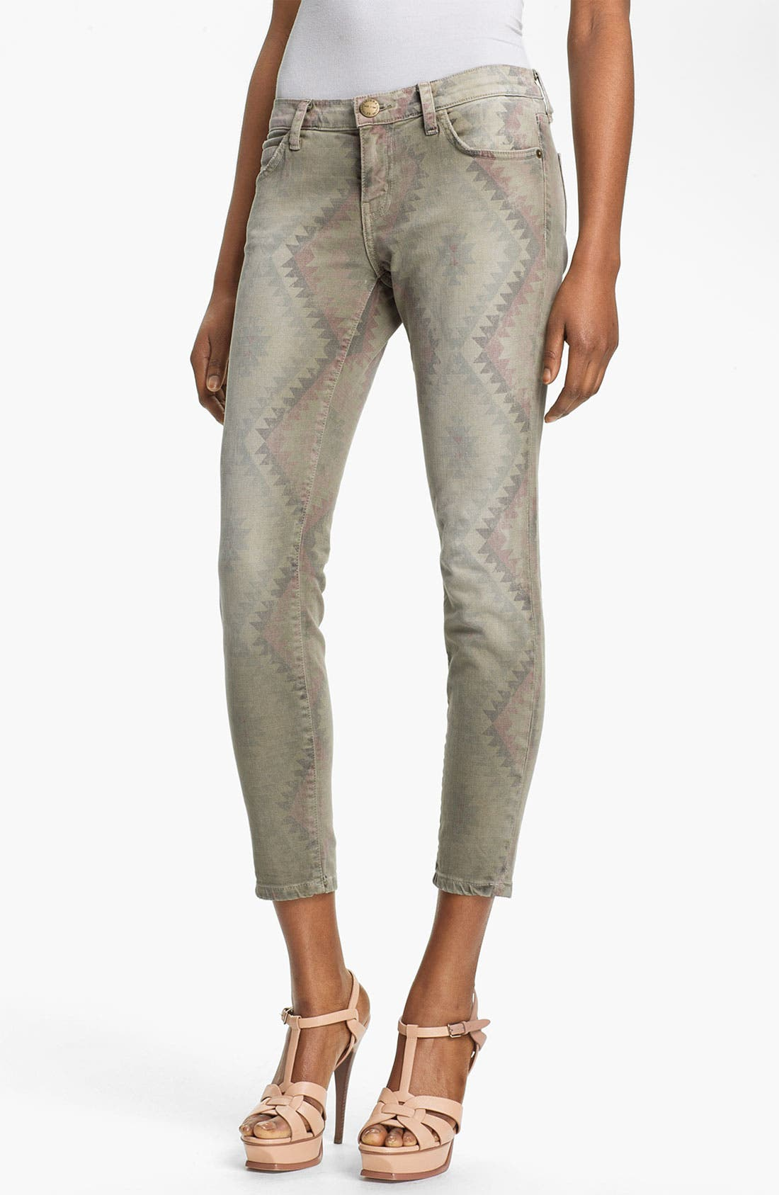 Alternate Image 1 Selected - Current/Elliott 'The Stiletto' Print Stretch Jeans