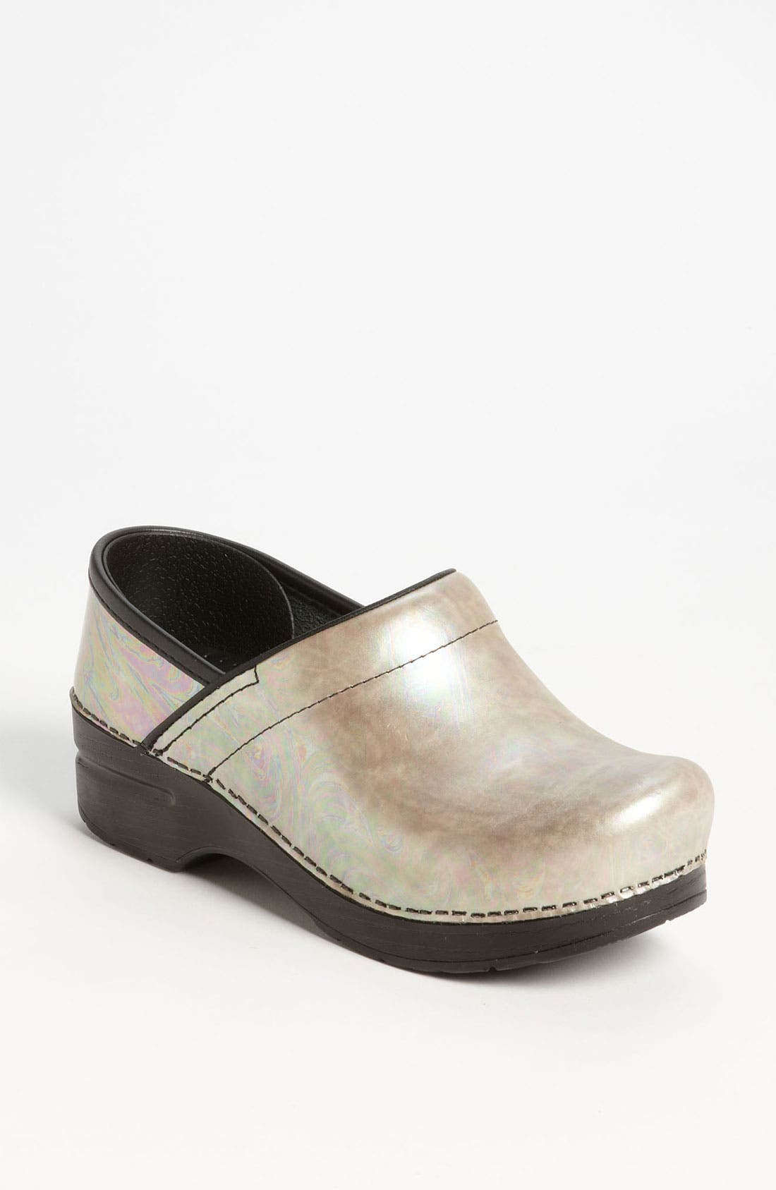 Alternate Image 1 Selected - Dansko 'Professional - Silver Opal' Clog
