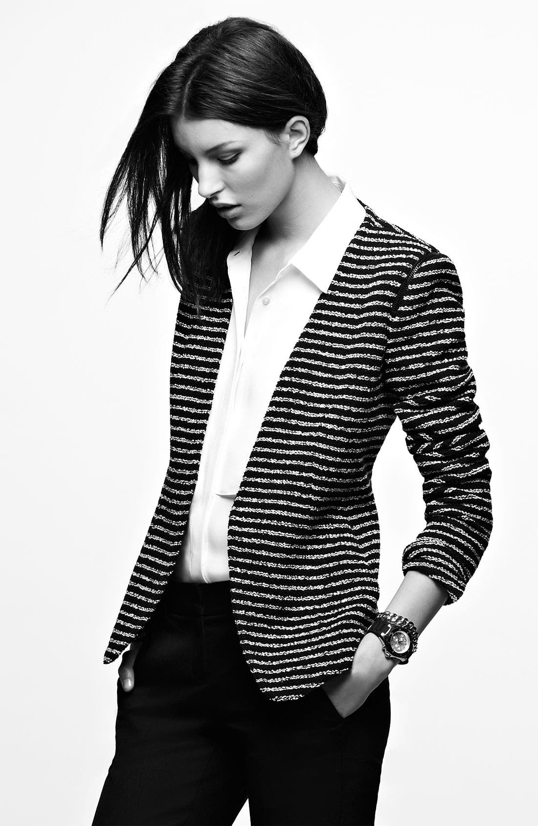Alternate Image 5  - Theory 'Yaisa' Stripe Blazer