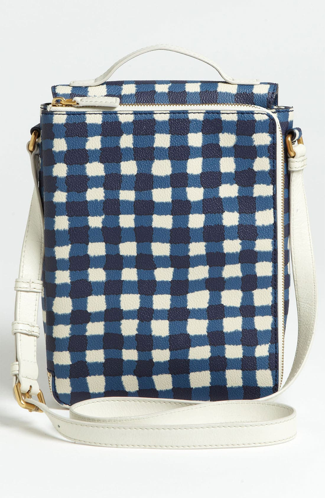 Alternate Image 5  - MARC BY MARC JACOBS 'Marc'd & Check'd' Print Tablet Crossbody Bag