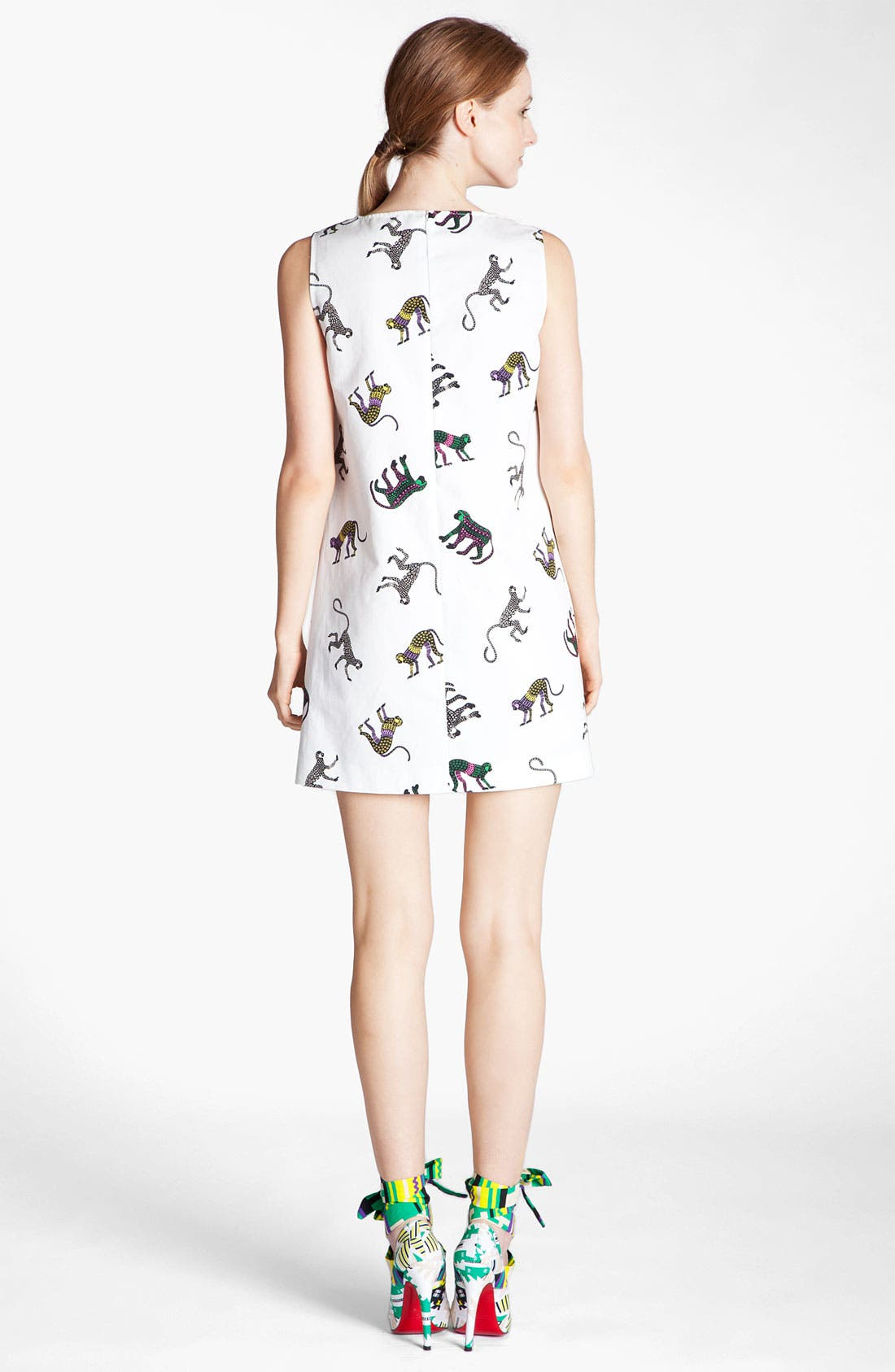 Alternate Image 2  - MSGM Monkey Print Dress