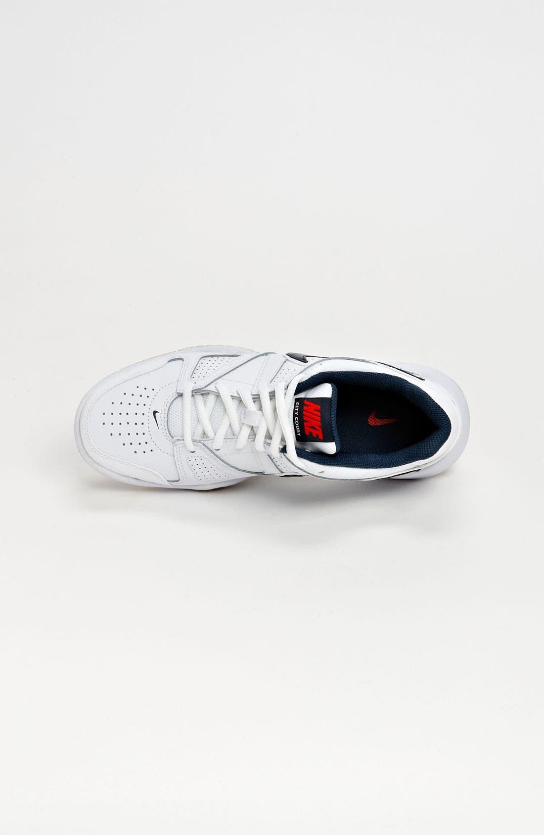 Alternate Image 3  - Nike 'City Court 7' Tennis Shoe (Big Kid)