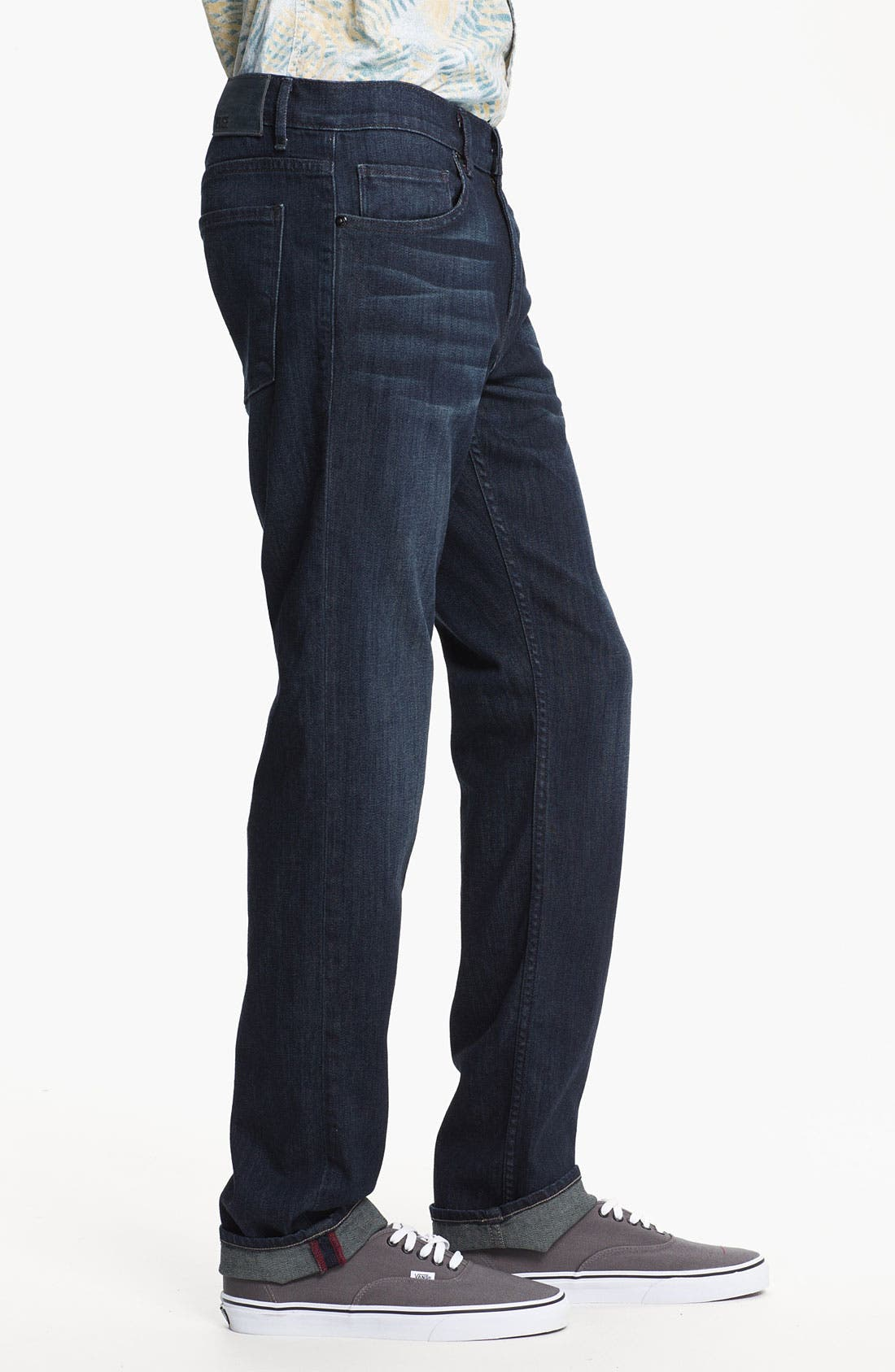 Alternate Image 3  - PAIGE 'Federal' Slim Straight Leg Jeans (Stingray)