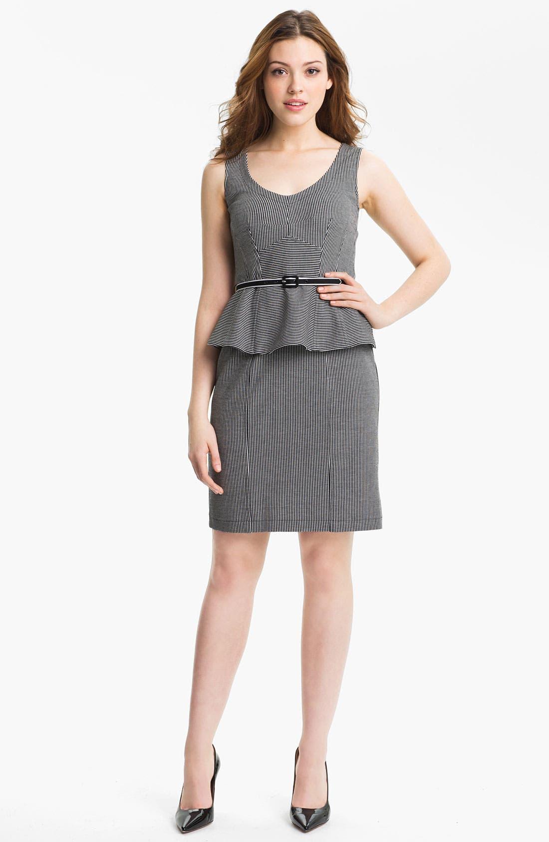 Alternate Image 1 Selected - Nanette Lepore 'Desert' Stripe Sheath Dress