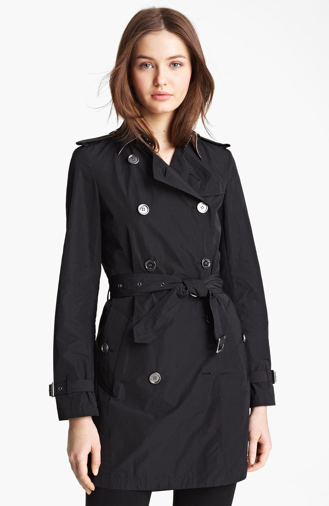 Main Image - Burberry Brit 'Buckingham' Packable Trench