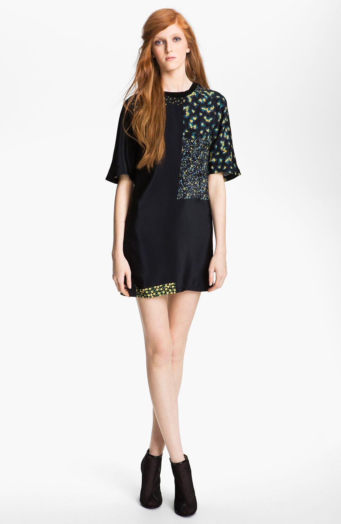 Alternate Image 1 Selected - 3.1 Phillip Lim Silk T-Shirt Dress