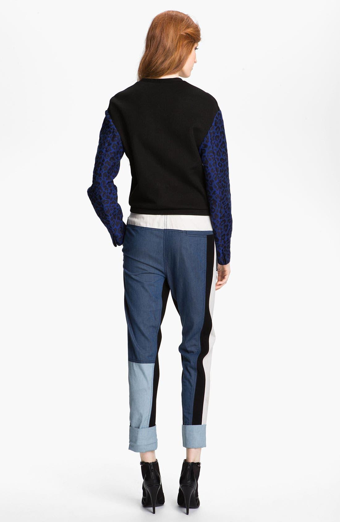 Alternate Image 3  - 3.1 Phillip Lim Print Sleeve Sweatshirt