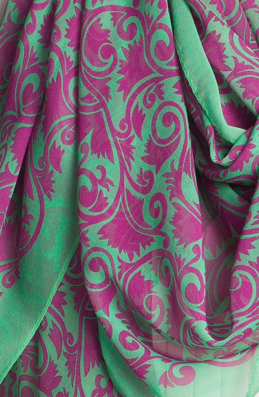 Alternate Image 2  - MARC BY MARC JACOBS 'Tootsie Flower' Silk Scarf