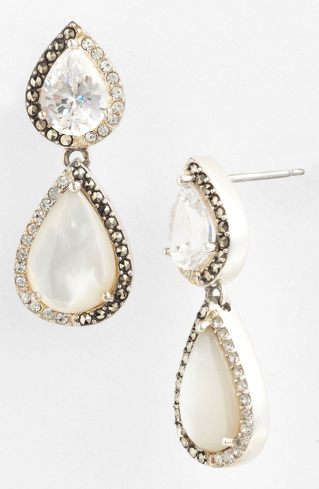 Alternate Image 1 Selected - Judith Jack 'Amore' Double Teardrop Earrings