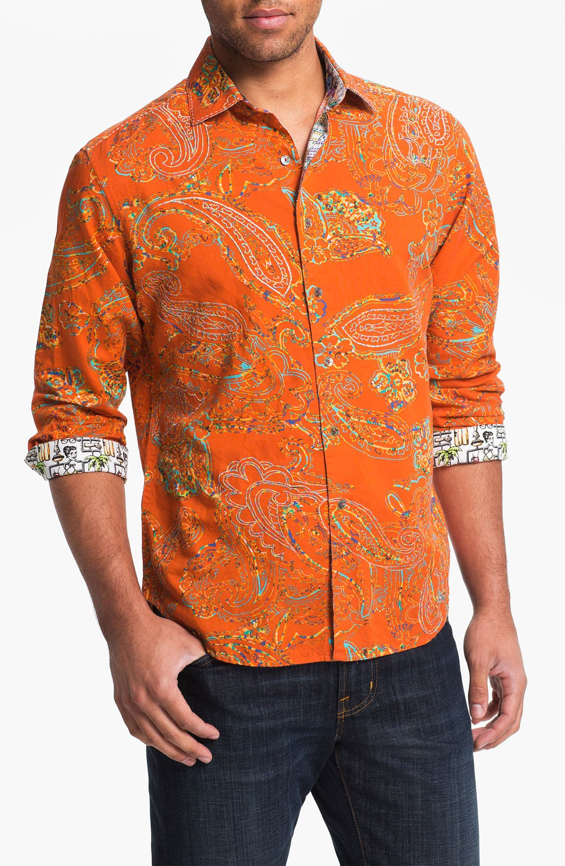 Alternate Image 1 Selected - Robert Graham 'Arthur' Sport Shirt