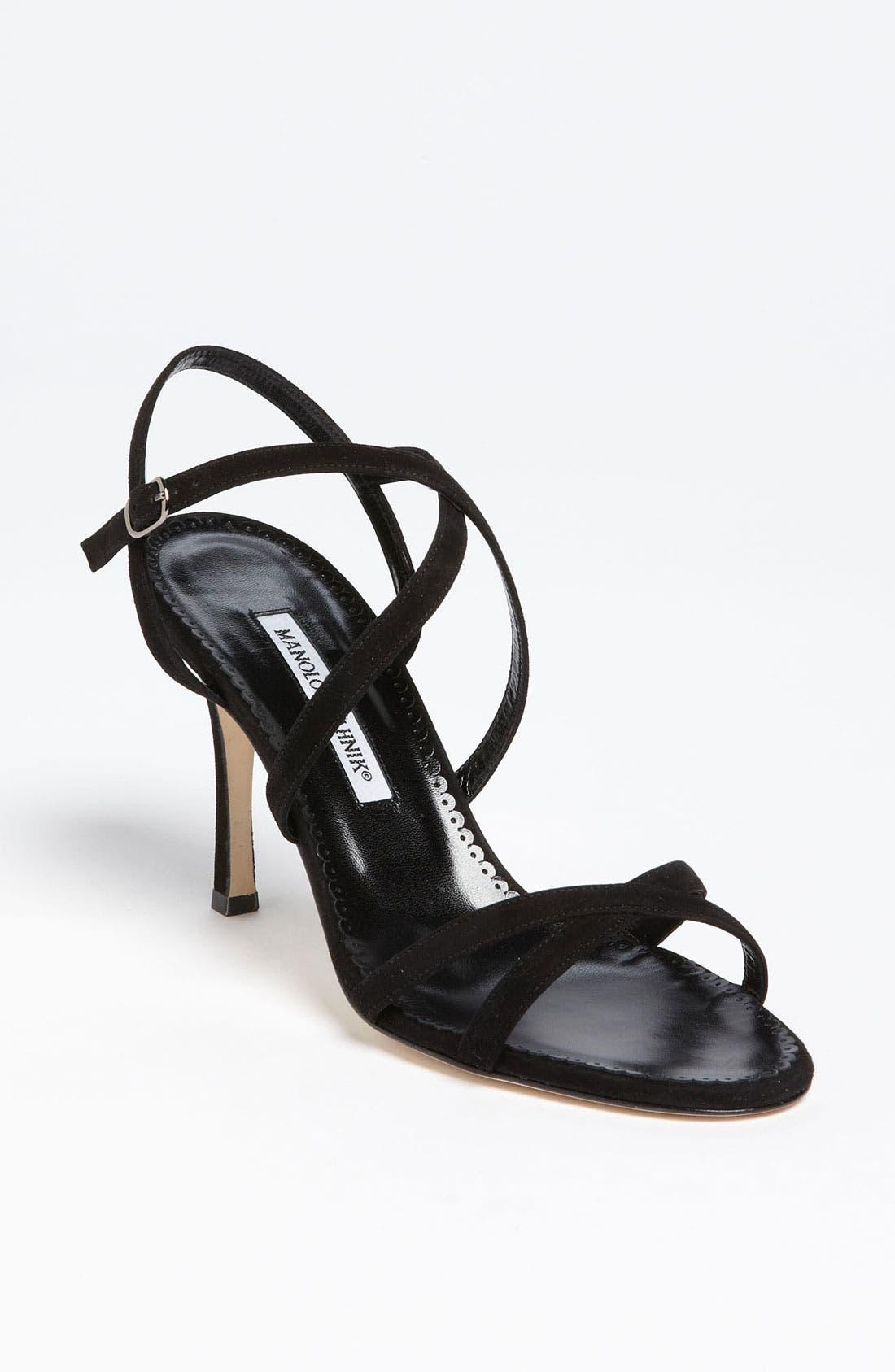 Alternate Image 1 Selected - Manolo Blahnik 'Bayan' Sandal