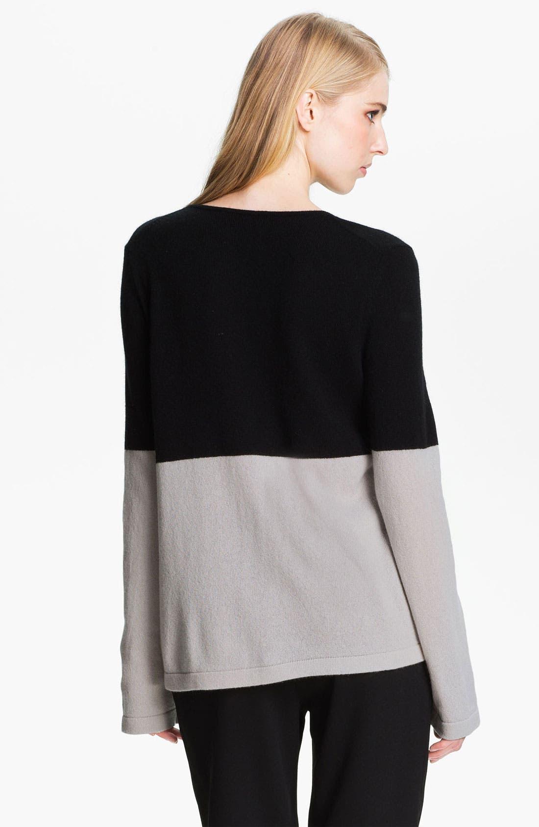 Alternate Image 3  - Halston Heritage Two Tone Sweater