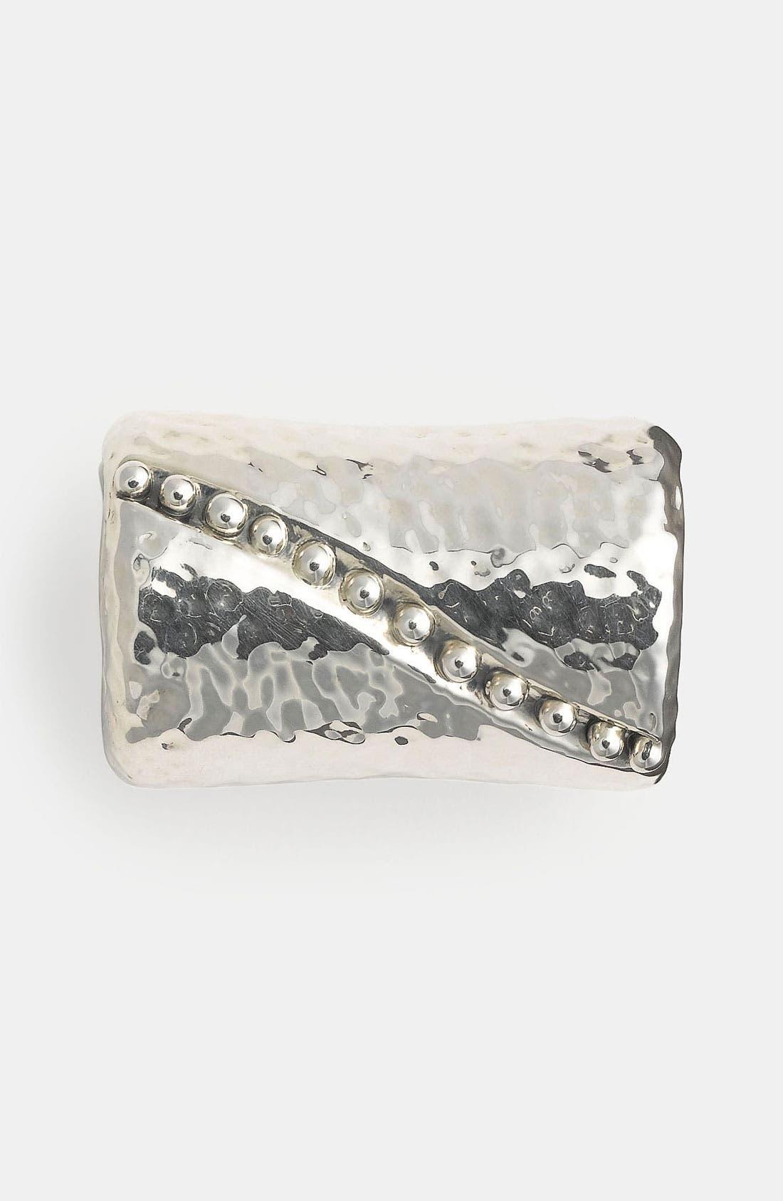 Alternate Image 1 Selected - Simon Sebbag Hammered Bead Pendant