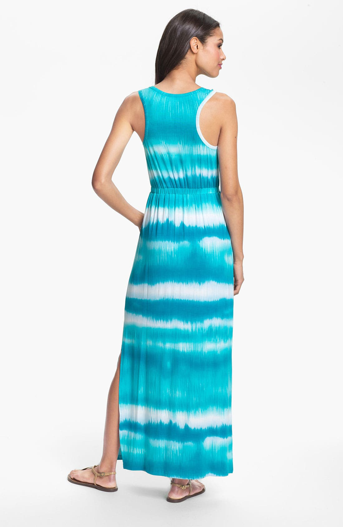 Alternate Image 2  - Calvin Klein Racerback Tie Dye Tank Dress
