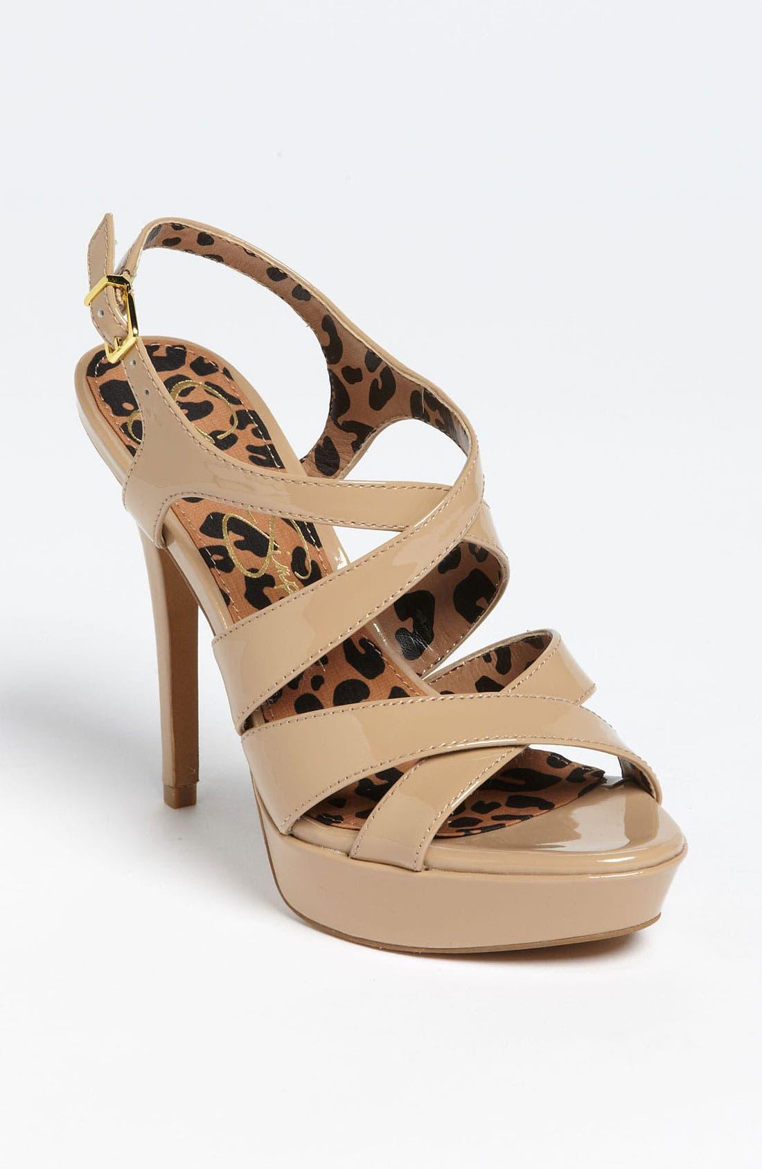 Alternate Image 1 Selected - Jessica Simpson 'Bianca' Sandal