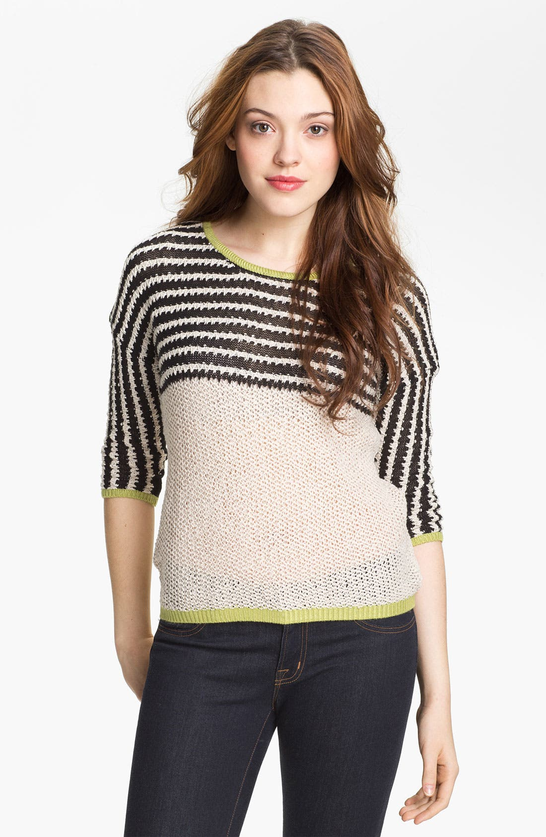 Alternate Image 1 Selected - Max & Mia Stripe Sweater