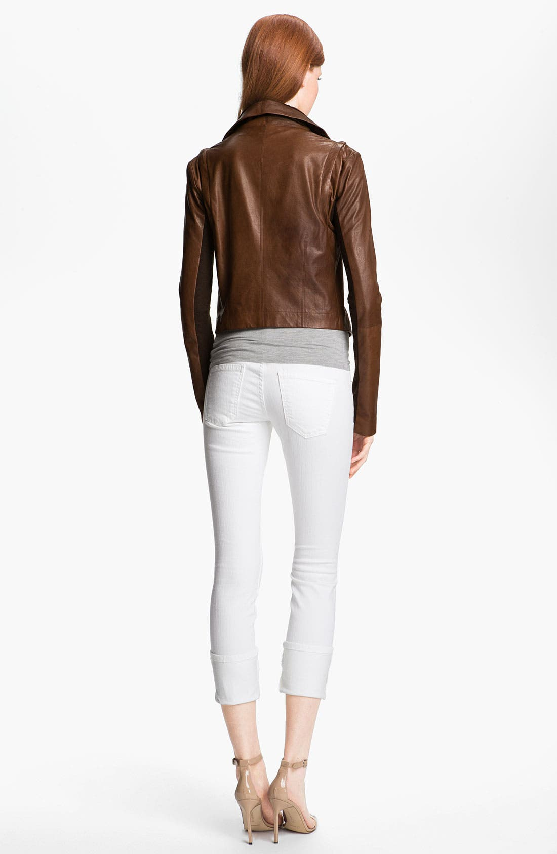Alternate Image 4  - Veda 'Max' Convertible Leather Jacket