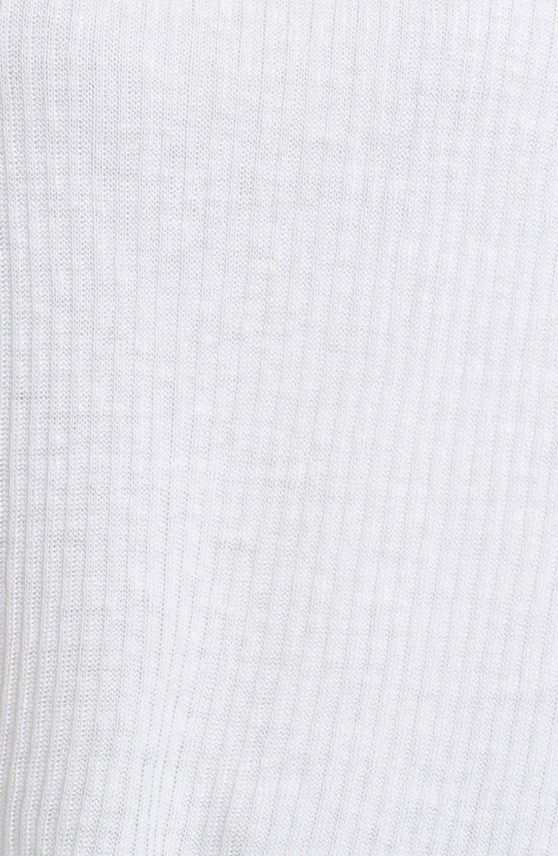 Alternate Image 3  - Eileen Fisher Ribbed Linen Top (Petite)