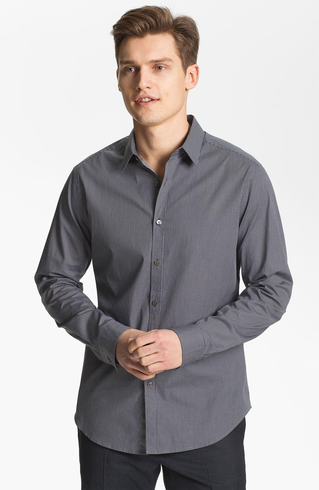 Main Image - Theory 'Zack PS. Lorone' Trim Fit Sport Shirt