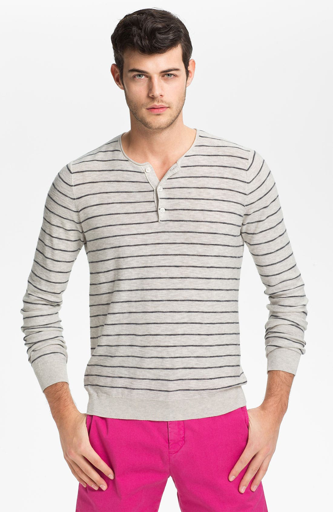 Alternate Image 1 Selected - Vince Henley Sweater