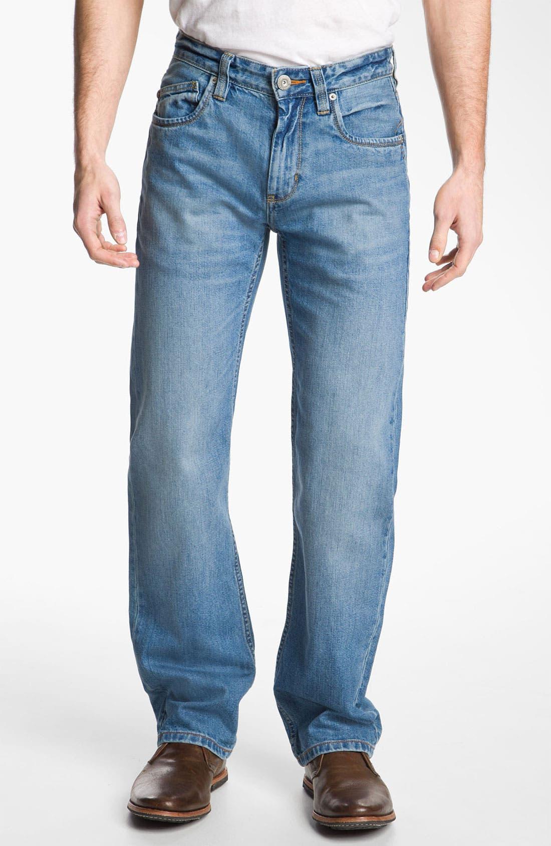 Alternate Image 1 Selected - Tommy Bahama Denim 'Steve Standard Fit' Jeans (Storm)