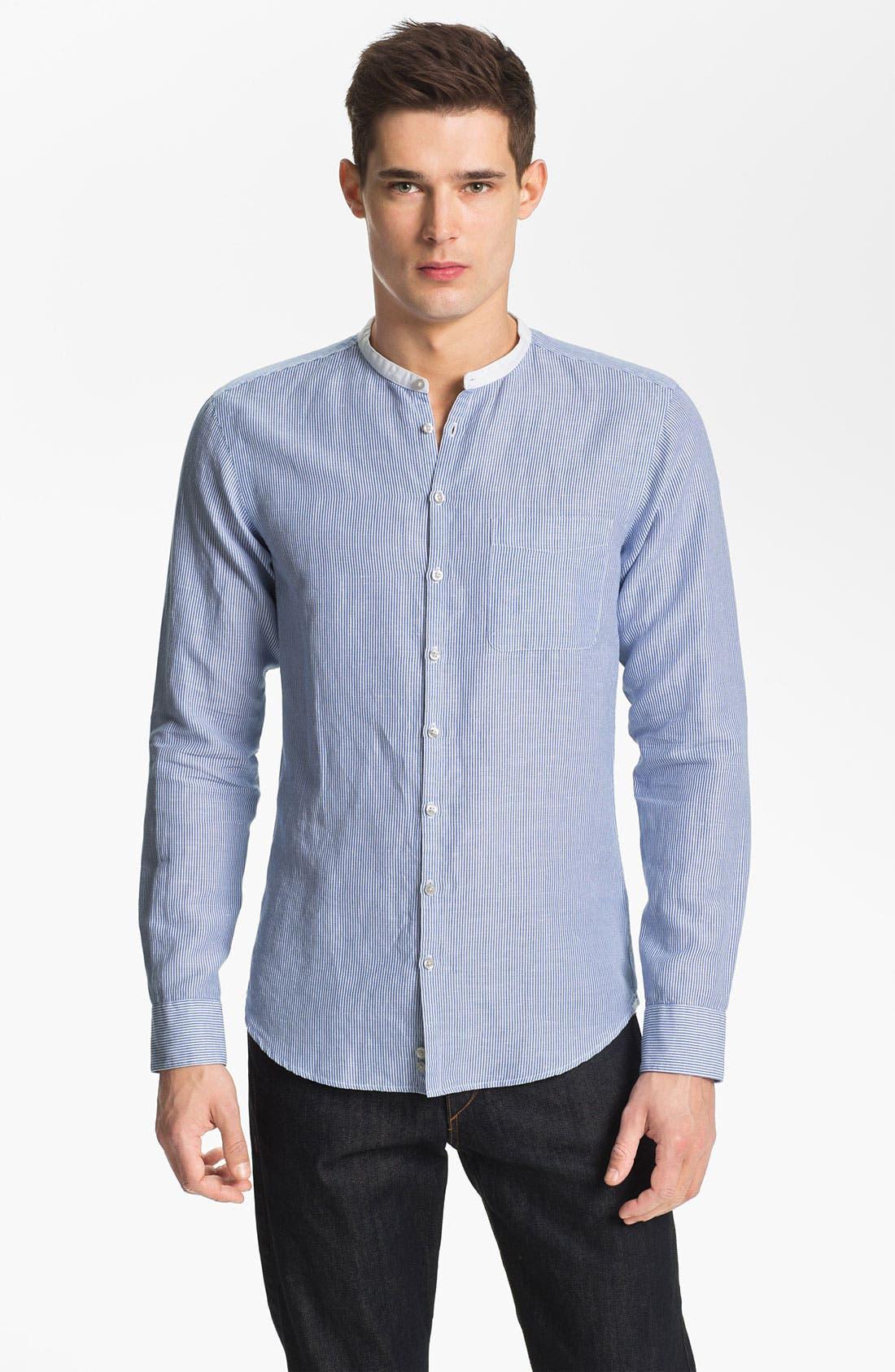 Alternate Image 1 Selected - Zegna Sport Tapered Fit Sport Shirt